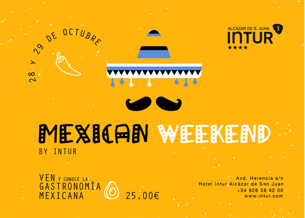mexican weekend intur alcazar