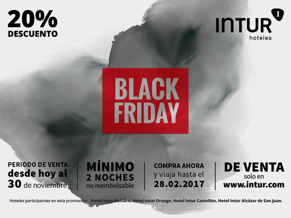 Black Friday Hoteles Intur